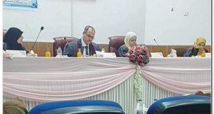 لجنة مناقشة رسالة ماجستير